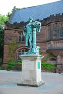 John Witherspoon statue (near Chancellor Green) in Princeton, NJ